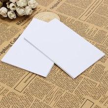 Kicute 50pcs/lot White Adhesive Printer Paper A4 Self Adhesive Glossy Paper Label Sticker for Laser and Inkjet Printers Supply(China)
