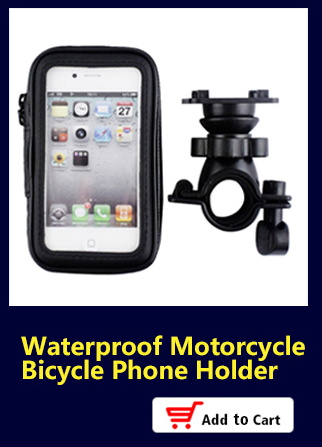 Universal Waterproof Motorcycle Phone Holder for iPhone