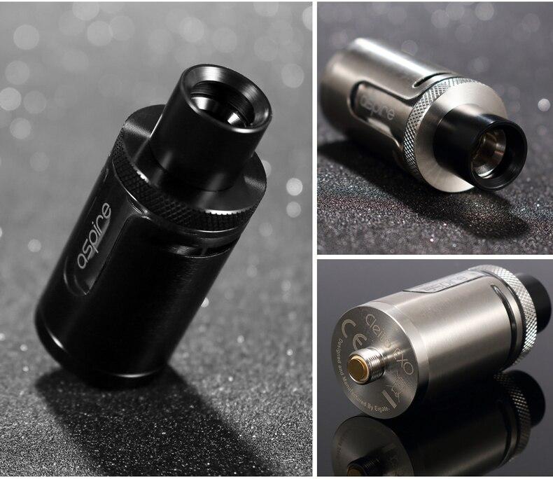 E Cig Atomizer Aspire Cleito EXO Tank TPD/Standard Version 3.5ml Electronic Cigarette Vape Tank E cigarette Atomizer 4