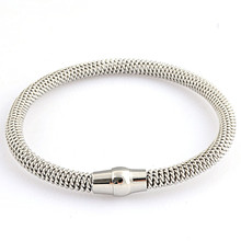 Classic Luxury Brands Imported Titanium Steel Bracelet & Bangles Titanium Love Tag Bracelet Jewelry For Women(China)