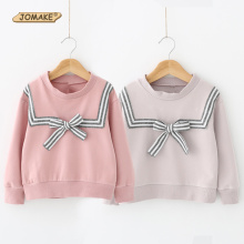 Buy Girls Sweatshirts & Hoodies Spring Casual Baby Girl Clothes School Cute Striped Bow Children Tops Pullover Toddler Girl Clothing for $11.03 in AliExpress store