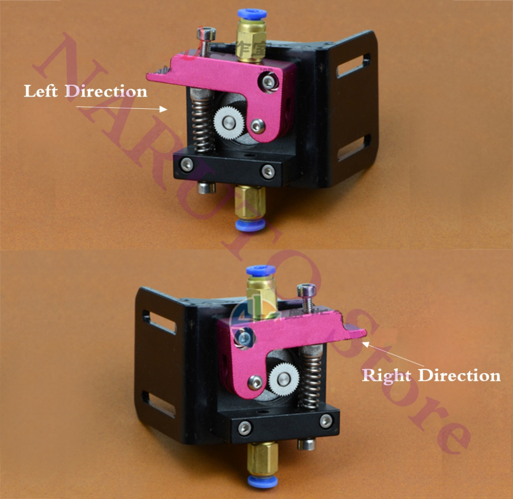 Reprap 3D Printer Accessories MK8 All-metal bowden extruder kit Remote Extruder Aluminum Parts for 1.75mm/3mm Bowden Extruder<br><br>Aliexpress