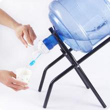 Bottled Water Hand Press Type Water Dispenser Drinking Bucket Pure Mineral Water Folding Rack