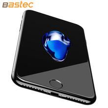 Bastec Curve Edge Full Coverage 9H Hardness Luxury Packaging HD Clear Tempered Glass Screen Protector for iPhone 7 7 Plus
