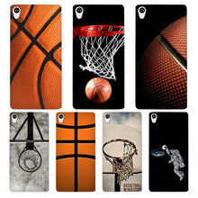 Basketball dark White Phone Case Cover for Sony Xperia Z1 Z2 Z3 Z4 Z5 M4 Aqua C4 XA XZ E4 E5 L36H