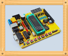 Free Shipping!!!  51/AVR microcontroller development board / Training Kit / with program / CKD