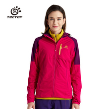 North Softshell Jacket Women Power Sport Climbing Outdoor Hiking Jackets Elastic Quick-Drying Hiking Clothing Waterproof Jacket