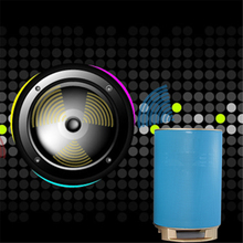 ZK20 NS-BQ9S Outdoor riding Bluetooth speaker flashlight card function bicycle portable subwoofer mobile power small sound