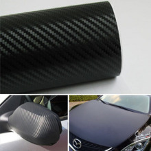 3D Carbon Fiber Vinyl Film Waterproof Glossy Carbon Car Stickers DIY Motorcycle Automobiles Car Styling Wrap Roll Accessories