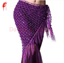 New style Belly dance costumes sequins belly dance hip scarf for women belly dancing belts(China)
