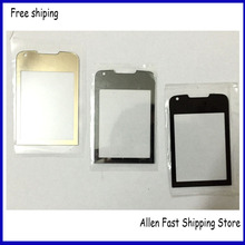 100% Original Mirror Screen Front Lens Glass For Nokia 8800A 8800 Arte Glass Lens +Logo. Black  /Gray /Gold Color