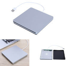 2017 Newest Ultra Thin Notebook Drive Kit Inhalation External CD-ROM Drive Box 9.5 /12.7mm for Desktop Notebook PC CD-ROM(China)
