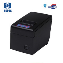 58mm thermal wifi printer pos usb receipt printer big paper 83mm large diameter roll warehouse English driver support win10