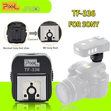 Pixel TF-336 Hot shoe Adapter with PC Port for Convert Normal Sony Hotshoe to Sony Mi A750 A700 A500 A350 Cameras