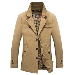 Мужская х/б куртка с длинным рукавом