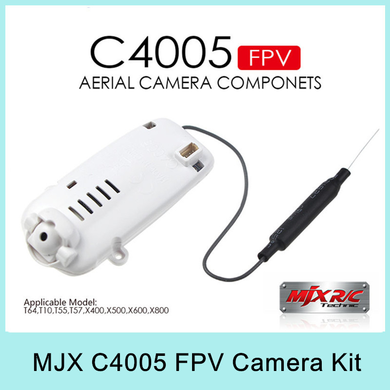 Origina MJX HD C4005 FPV real time Video FPV MJX Camera For MJX T10/T55/T57/T64/X400/X500/X600/X800/X601H/X401H quadcopter kit<br><br>Aliexpress