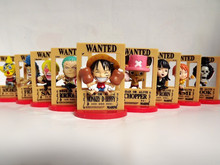 9pcs/set Anime one piece figure Nami Robin Luffy Zoro Model Toy for collection full set for boyfriend gift(China)