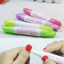 New Nail Art Gel Nail Polish Remover Pen Manicure Cleaner Nail Polish Corrector Remover Pen UV Gel Polish Remover Wrap Tool