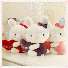 Mini plush toys rabbit kids toys soft toys stuffed plush animals birthday gift doll toys for girls valentine day gift animales(China)