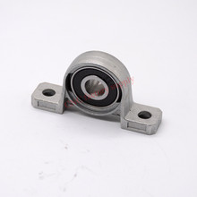 4pcs KP08 8mm pillow block bearing zinc alloy insert linear bearing shaft support CNC part(China)