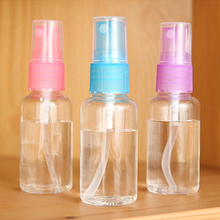 1 Pcs Mini Purfum Bottle Women Plastic Transparent Small Empty Spray Bottle For Make Up And Skin Care Refillable Bottle