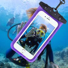 New Great Waterproof CellPhone Pouch Bag Case Underwater Swimming Case Phone Protector Diving Camera Accessories