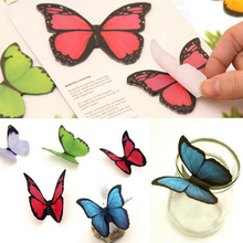 30 Pages 3D Butterfly Bookmark Style Book Marker Stationery Gift Realistic Domestic Collection Write Bookmark 1PC