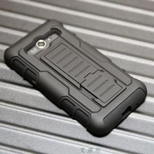 KJ,Core2 Armor Impact Holster Shockproof Hybrid Hard Case For Samsung Galaxy Core 2 G355H G3559 Case Back Phone Cover Belt Clip