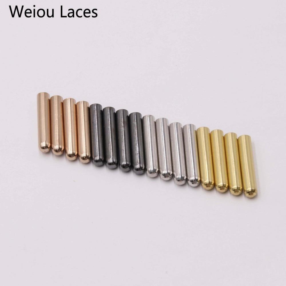 4 pièce de métal aglets pour lacets lacets 4 couleurs conseils shoe Laces