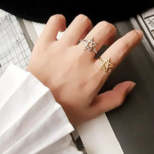 New fashion jewelry  star finger ring   nice gift R4080