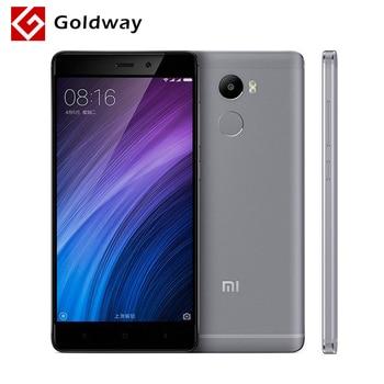 "Original Xiaomi Redmi 4 Mobile Phone Snapdragon 430 Octa Core CPU 2GB RAM 16GB ROM 5.0"" 720P Fingerprient ID 4100mAh Battery"