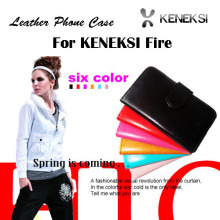 New arrival KENEKSI Fire Case, Flip leather phone Case Cover For KENEKSI Fire Free Shipping.
