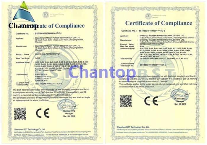 certificate for PSU1