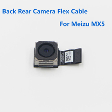 High Quality New Good Work MX5 Back Rear Big Camera/Front Facing Small Camera Flex Cable For MEIZU MX5 MX 5 Mobile Replacement