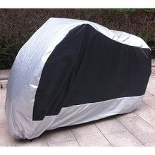 Motorcycle Covers Rain Sun Prevent Bask Waterproof Dustproof Outdoor Scooter Cover Cafe Racer For Honda Harley Suzuki Yamaha ATV