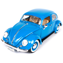 Maisto Bburago 1:18 Volkswagen Beetle Retro Classic Car Diecast Model Car Toy New In Box Free Shipping 12029