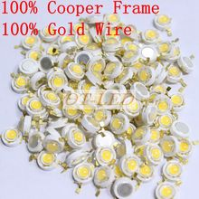 30pcs/lot 3W Epistar 45mil led Chip Diode light emitting diode chip 45MIL High Power led for DIY Spot Light Special offer.
