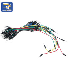 Jumpers Kit Cable Pack Protoboard Solderless Breadboard Jumper Wire Board Cable Kit Module Jumper Wires 65pcs/set(China)