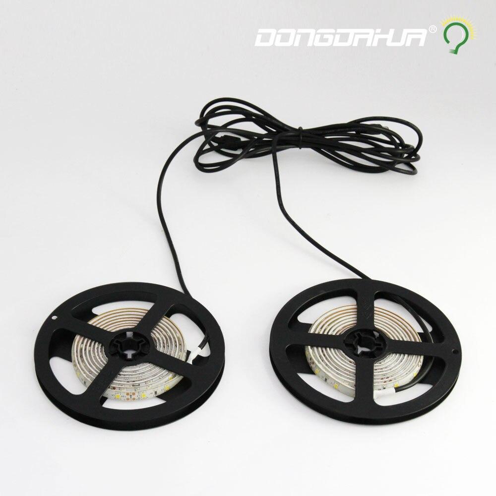 dc12 v led light strip smd Sensitive range 150cm led flexible tape led ribbon not waterproof lighting string Counter lamp tube<br>