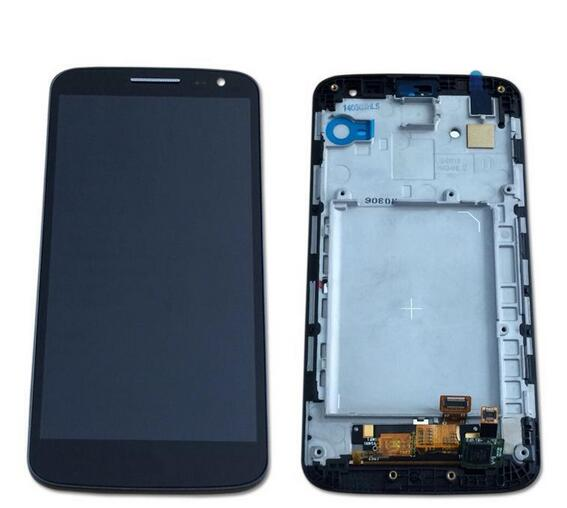 For lg g2 mini D620 D618 Lcd display+touch screen digitizer+Frame Assembly Black/white color free shipping<br><br>Aliexpress