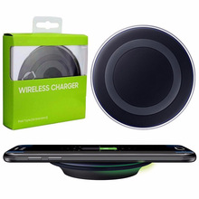 New  Mobile phone qi wireless charger charging pad for Samsung Galaxy S6 edge G9200 G9250 Wireless charger sem fio carregador