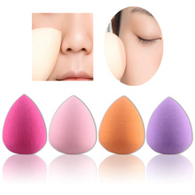High Quality 4Pcs/pack Women Makeup Sponge Powder Puff Facial Make Up Teardrop-shaped Sponge  Puff Cosmetic Tools