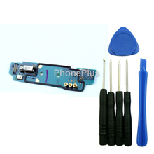 For Sony  Xperia V LT25 LT25i Keyboard Plate Button Key Vibrator Vibration Motor Flex Cable Repair Part