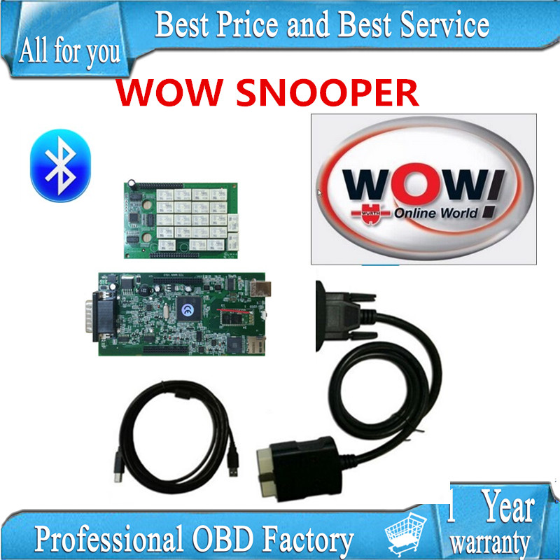 NEC RELAY 2017 WOW SNOOPER Bluetooth with box new appearance v5.008 R2 version free active tcs cdp pro plus<br><br>Aliexpress