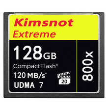 Original Kimsnot 800x 16GB 32GB 128GB 64GB Memory Card CF Card CompactFlash 120MB/s Compact Flash Camera Card UDMA7 Wholesale