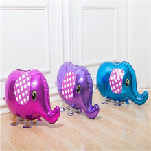 1 piece Elephant Walking Animal Balloons Balloons Jungle Party Birthday Decoration Kids Toy