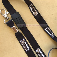 100pcs 2*90cm customized silk screen print mobile lanyard & landyard with hook with Free shipping by DHL express