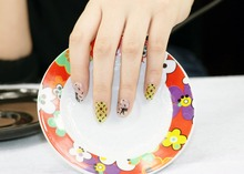 1 Set = 2Nail Patches+1Nail File +2Remover Pads Animals  Nail Art Water Transfer Full Nail Sticker Nail Decorations for Manicure