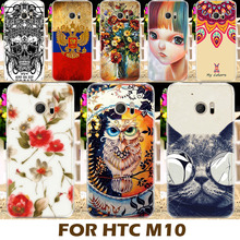 Top Selling Painting Design Hard Plastic Case For HTC 10 One M10 M10h 5.2 Inch Cell Phone Cover Protective  Shell Coque Back