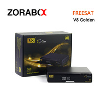 The Best FTA Dvb-S2+C+T2 Combo Digital Satellite Receiver V8 Golden Set Top Box Support Cccam Networksharing Newcamd Mgcamd IPTV(China)
